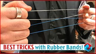 Best Rubber Band Magic Tricks! Level 10/10!