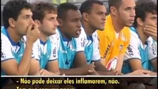 Globoesporte: No banco, Obina 'narra' o jogo entre Bahia x Flamengo