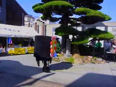 【着ぐるみ】ゆるキャラ祭り in 湯田温泉・大縄跳び(後半)