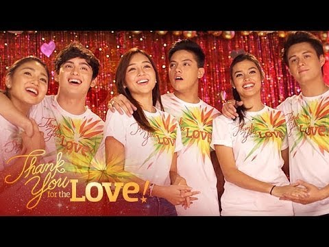 ABS-CBN Christmas Station ID 2015 Thank You For The Love Recording Music Video