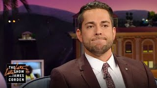 Zachary Levi Is Ready for the Earthquake Matt Damon Survived