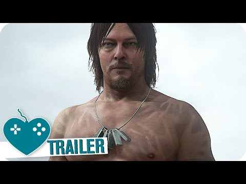 DEATH STRANDING E3 2016 Reveal Trailer (2017) PS4 Game starring Norman Reedus
