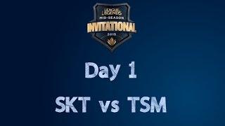 MSI - Day 1 - SKT vs TSM