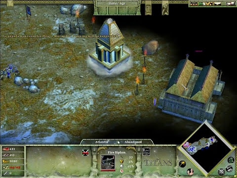 Let's Play Age of Mythology The Titans #1 - Znajdźmy Nowe Ziemie