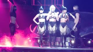 Britney Spears-Slave for You/Freakshow Intro 8/22/15