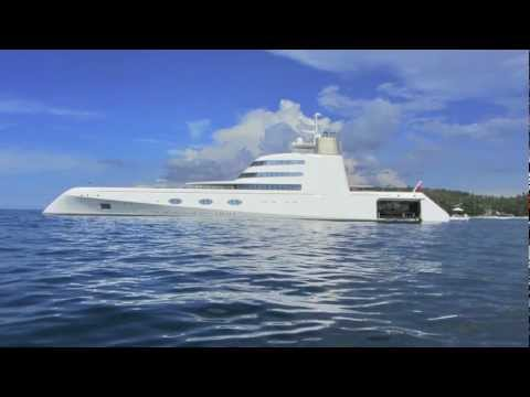 Andrey Melnichenkos $300 Million Super Mega Yacht