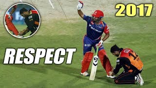 RESPECTFUL and MAGNIFICENT Moments in INDIAN CRICKET - CRICKET RESPECT 2017 !!