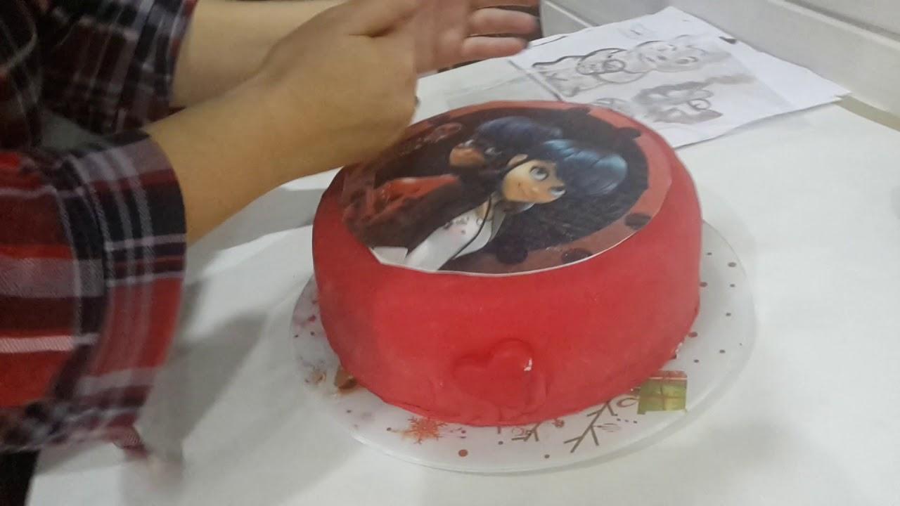 Торт леди баг своими руками 26
