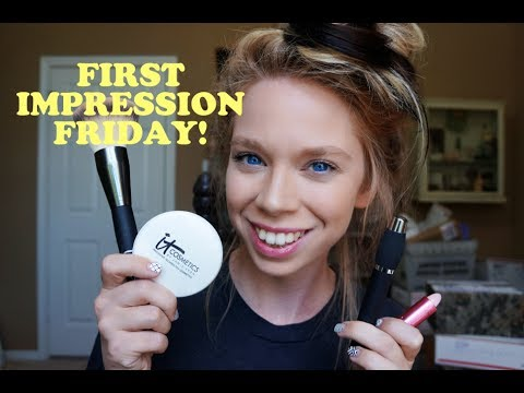 IT COSMETICS- FIRST IMPRESSION FRIDAY