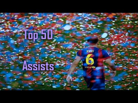 Xavi Hernández ● Top 50 Assists ● 1997-2015