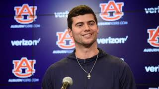 Auburn quarterback Jarrett Stidham previews Iron Bowl