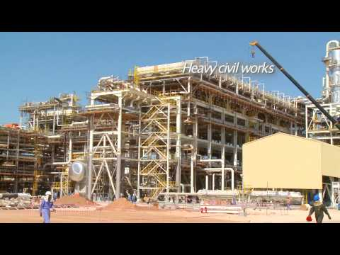 Oil & Gas video - Engineering, Construction; Galfar, Oman (4 min) - HardHat Media