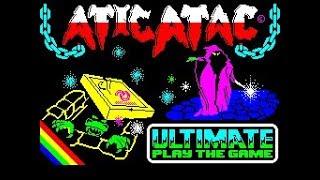 Atic Atac Comparison - ZX Spectrum & BBC Micro