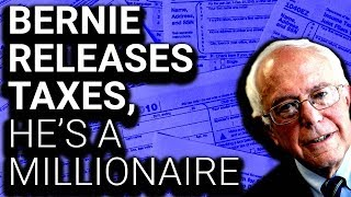 """Bernie Releases Taxes, Immediately Smeared as """"Millionaire"""""""