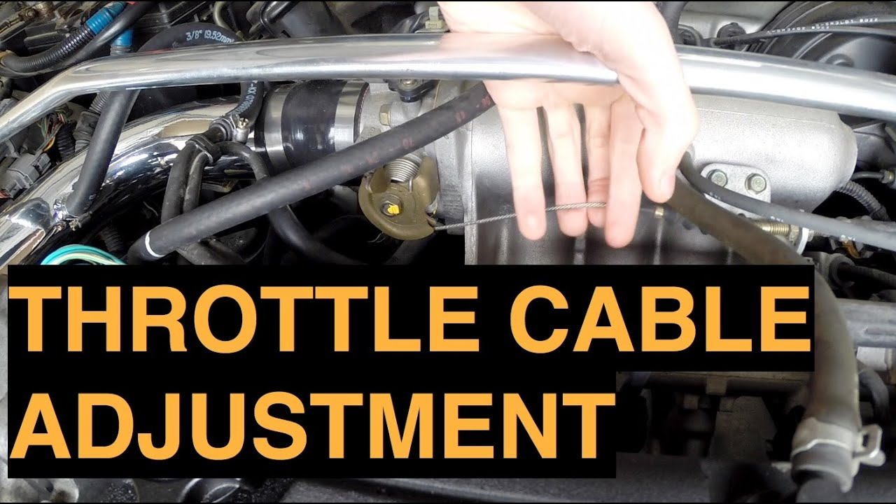 Throttle Cable Wrx Throttle Cable Adjustment