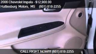 2006 Chevrolet Impala SS 4dr Sedan for sale in Hattiesburg,