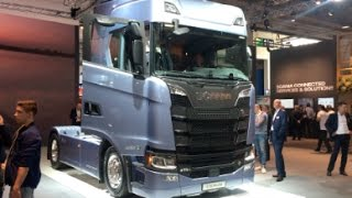 Scania S 730 A4x2NB 2016 In detail review walkaround Interior Exterior