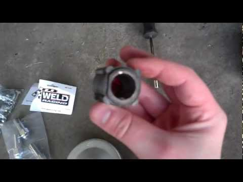 How to add a torque converter to a Baja Warrior MB200 with untapped crankshaft