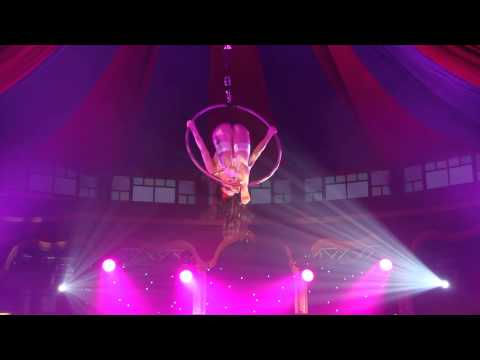The One And Only Sasha Flexy On Aerial Hoop With Veronica Blacklace On Vocals video