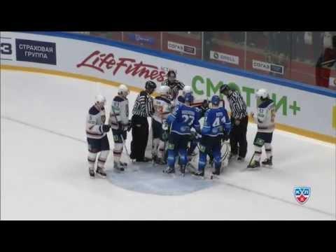 Amur @ Barys 14/10/2014 Highlights / Барыс - Амур 5:0
