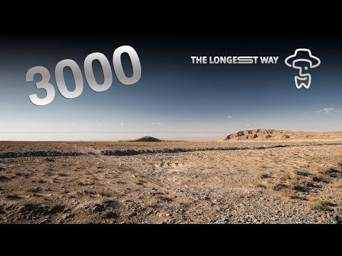 "The Longest Way ""3000km dance"" (near Jiayuguan)"