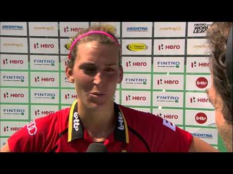 Post Match Interview Lieselotte Van Lindt