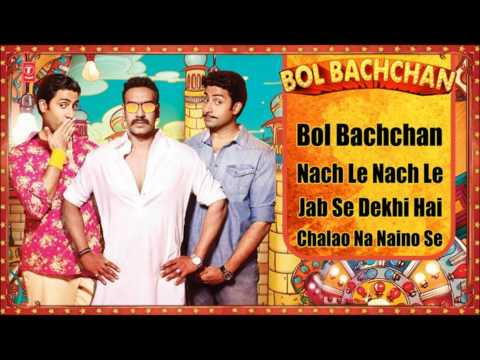 bol Bachchan Full Songs | Ajay Devgan, Abhishek Bachchan | Jukebox video