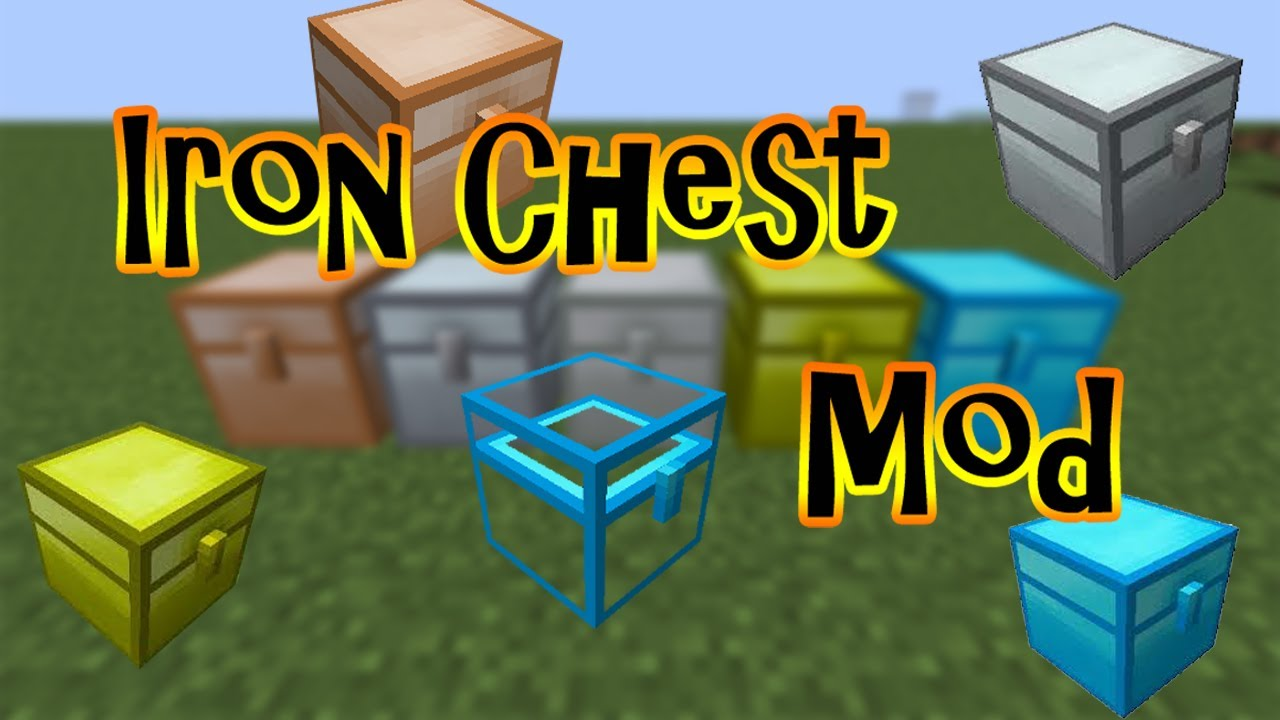 how to make an iron chest in minecraft