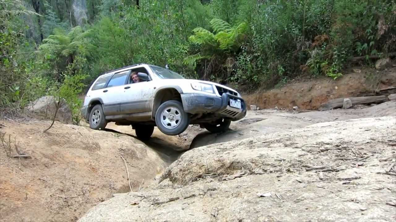 Subaru Forester Off Road - Bunyip Rock Climb - Part 3 of 3 ...