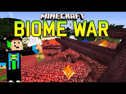 Minecraft - BIOME WAR - PvP Map - Das war knapp :o | GommeHD