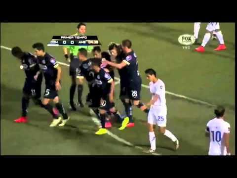 Gol de Oribe Peralta  |  Comunicaciones 0 - 1 América