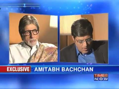 Amitabh Bachchan on Frankly Speaking with Arnab Goswami (Part 4 of 4)