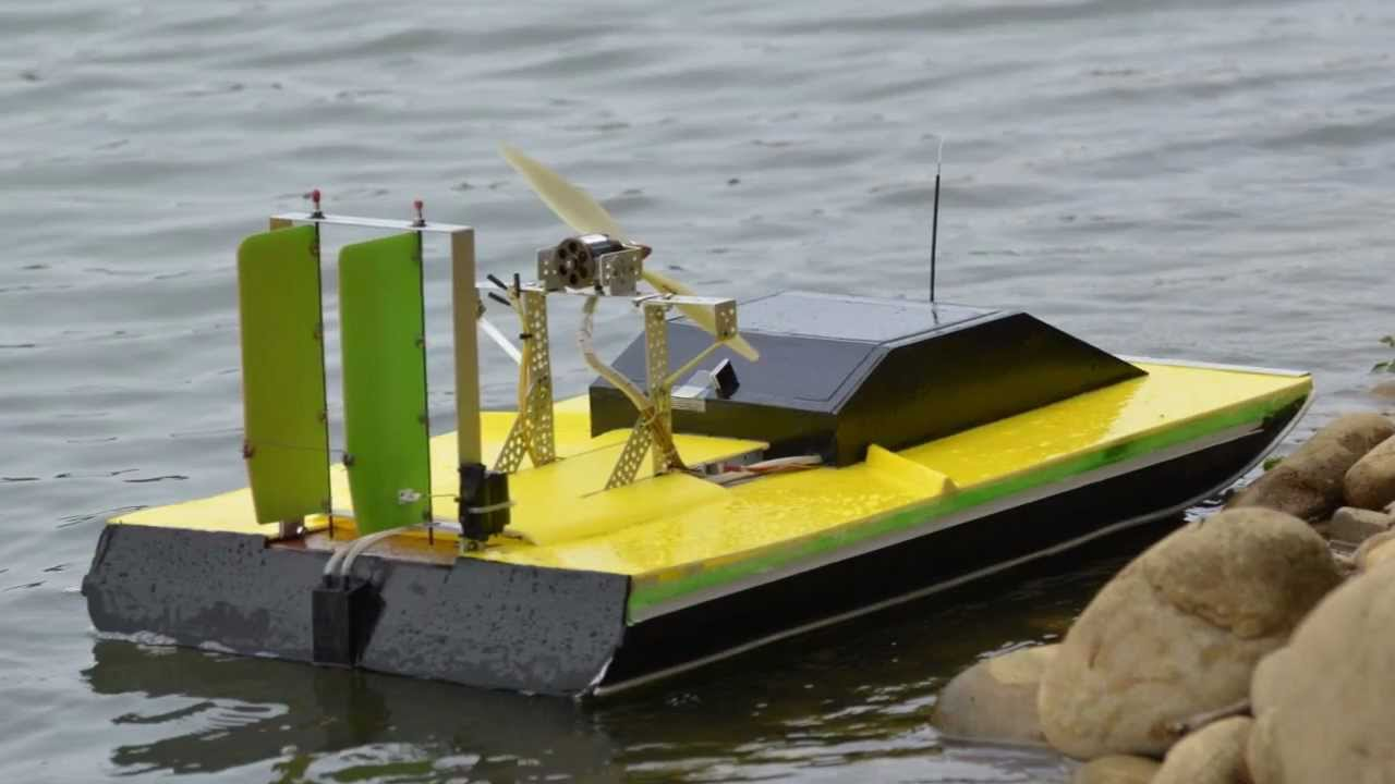Electric Airboat Rc Youtube