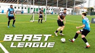 PARTIDOS de FUTBOL LIGA de YOUTUBERS Y SUSCRIPTORES Beast League FTO 2 vs 2 JORNADA 1