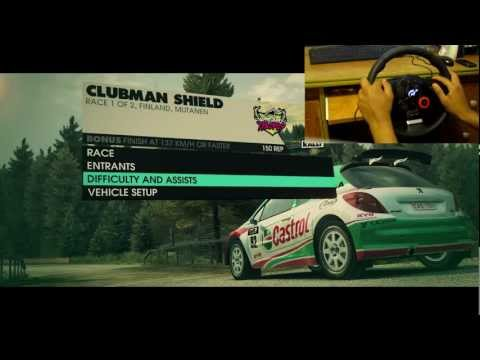 Dirt 3 First Race w/ Logitech Driving Force GT Wheel