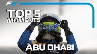 Top 5 Formula 2 Moments | 2019 Abu Dhabi Grand Prix