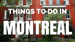 Video of Montreal: 30 Things to do in Montreal | Top Attractions Travel Guide (author: Samuel and Audrey)