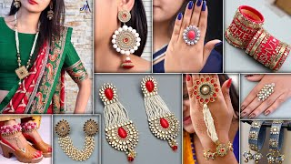 WOW !!! Designer Party Wear - Jewelry For Croptops, Gown Dresses & Sarees