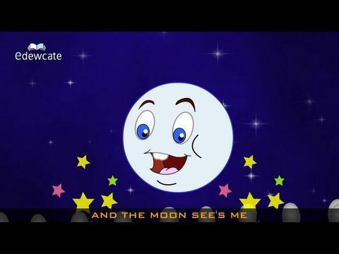 Edewcate english rhymes – I see the moon nursery rhyme