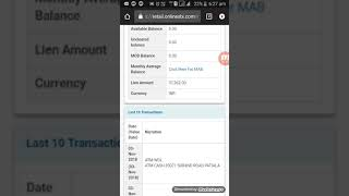 What is lien amount in bank account || How to remove lien amount in hindi
