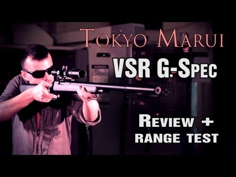 Tokyo Marui VSR G-Spec Airsoft Sniper Rifle - Review + 30m Range Test