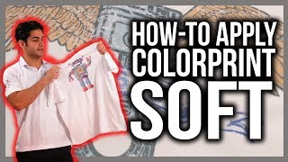 Applying ColorPrint Soft Printable Heat Transfer Vinyl
