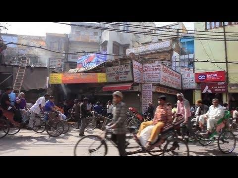 Walking in OLD DELHI / INDIA