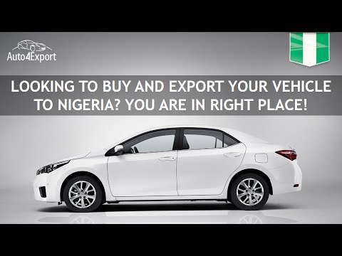 Shipping cars from USA to Nigeria - Auto4Export