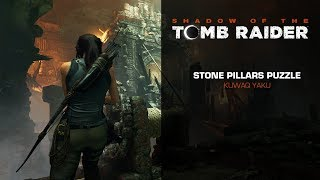 Shadow of the Tomb Raider - Rotating STONE PILLARS Puzzle (Path of the Living)