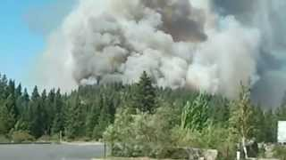 FIRE City of Weed CA Sep 15 2014