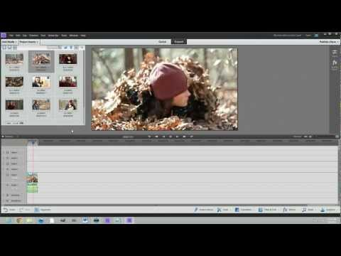 Adobe Premiere Elements 11 Tutorial for Beginners - Set up a New Project