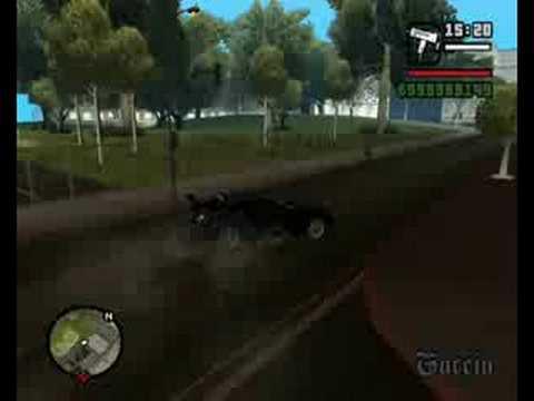 GTA SA mercedes benz mclaren mod HQ video