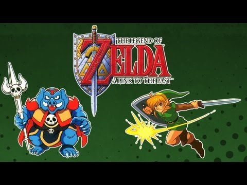 Let\'s Play SNES#1 - The Legend of Zelda: A Link to the Past - GMS BR