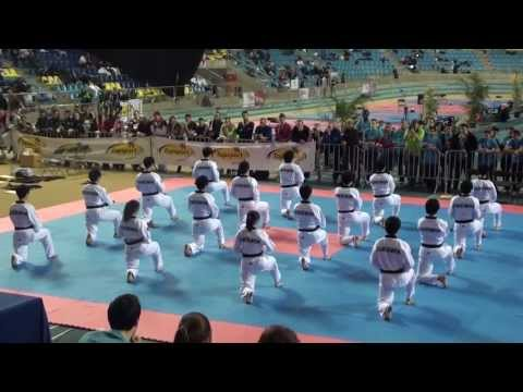 Kukkiwon Taekwondo Demonstration (2013 Belgian Open) Image 1